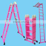 THREE STEP LADDER,Domestic Ladders Type and aluminum,Aluminum Material 2015 hot sale multi-purpose aluminium ladder
