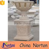 chinese handmade stone wall mounted flower pot for wholesale NTMF- FP208X