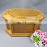 wood cremation ash cheap casket from china