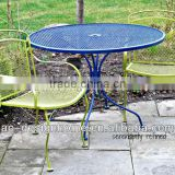 3 PCS WROUGHT IRON BISTRO SET