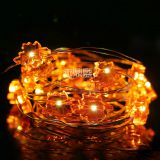yellow maple light night light string light fairy string christmas canada battery operated