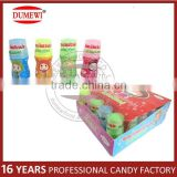 Lovely Mini Fruit Flavor Bottle Shape Liquid Spray Candy