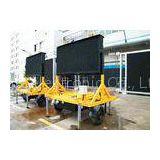 Dual Color P16 Portable Variable Message Sign Traffic Control With High Visible 1024mmx1024mm