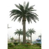 wholesale landscaping artificial canary date palm tree for indoor&outdoor