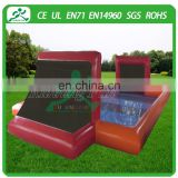 New design airtight inflatable soap soccer fielda, inflatable soap football field, inflatable water soccer field