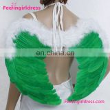 China supplier cheap adult costume large feather angel wings wholesale