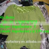 cream quality second hand clothes in china