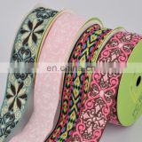 wholesale high quality customized jacquard ribbon woven tape