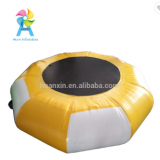water park inflatables water floating toys round trampoline jumping in the center