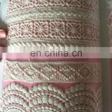 Chinese supplier hot sale popular wholesale swiss lace fabrics / african lace / guipure chemical lace for women wear