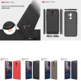 Utral Thin Shockproof Carbon Fiber Hybrid Phone Case Cover For Nokia 1 6 7 Plus