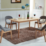 Northern European style dining table and  chair