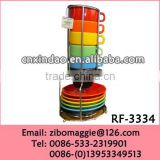 Popular Stackable Promotional Mug Made In China for Ceramic Coffee Mug/ Cup Display Rack