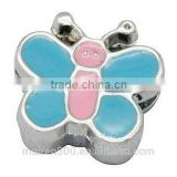 Butterfly shaped Charms for bracelets,slider letters
