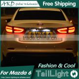 AKD Car Styling Tall Lamp for Mazda 6 DRL New Mazda 6 LED DRL 2016 Mazda 6 LED Tail Light Good Quality LED Fog lamp