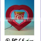 Heart shape picture frame funny photo frames floating wedding favor box