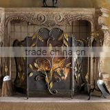 WHG14029 modern cast iron wood stove door best price high quality