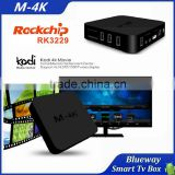 Bluetooth 4.0 RK3299 H.265 4Kx2K TV Set Supported Android 5.1 Smart M-4K TV Box Arabic IPTV Box