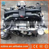 Japanese used car auto EJ207 gasoline Engine and gearbox with fine operation performance