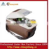 promotional and fashion mini portable car refrigerator,table top mini drink cooler,mini electric drink cooler