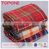 Factory price China home product 100% natural wholesale wool blankets