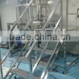 High quality body lotion making machine/body lotion mixing euipment/body lotion mixer tank