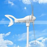 Beautiful shape small 300w 100w 50w wind power generator/turbine/windmill/system+wind solar hybrid controller
