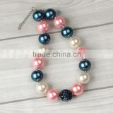 New Arrival kids chunky gum bubble necklace Wholesale bubble gum necklaces chunky kids                                                                         Quality Choice