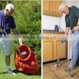 multifunction aluminum trash picker long-arm reaching tool