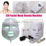 Skin Rejuvenation 2016 Hot Selling 7 Colors Pdt Equipment Improve fine lines Led Skin Rejuvenation Mask Led Light Facial Mask