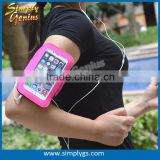 (New) Lycra sport armband for iphone 6, Lycra waterproof sport armband, Lycra cell phone armband