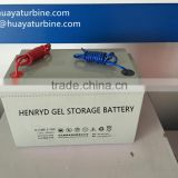 Maintenance free lead crystal 12v 200ah GEL storage battery for Solar power system