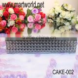 Luxurious crystal cake stand for home & party & hotel & banquet & wedding decoration,royal wedding cake stand (Cake-002)