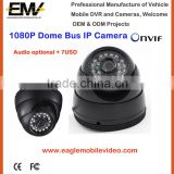 1080P Night Vision Dome Front Rear View Car IP Camera With Audio