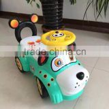 New Year Gift Four Wheels Swing Car Kids Twist Car Safty Baby Car Toys Ride Outside Child Sport Speed Car