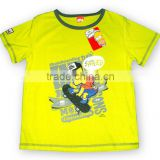 round neck with print/applique at front boy T-shirt boys clothing