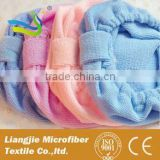 [LJ towel] Factory Direct Price Quick Dry Terry Cloth Microfiber Hair drying towel turban