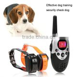 Homdox Remote Pet Training Collar With LCD Display Static Shock/ Vibration/ Sound Function AM003213