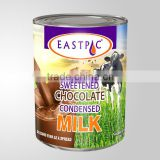 EASTPAC BRAND CHOCOLATE FLAVOURED SWEETENED CONDENSED MILK