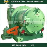 Rolling drum type barrel type shot blasting machine