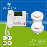 100-240 v GSM auto-dial calling addressables smart wireless fire alarm control panel with SMS function