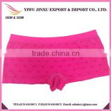 Wholesale Popular Style Seamless Underwear Images Heart-shaped With Fur Thermal Soft Ladies Boxer Briefs