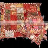 Tribal Banjara Gypsy Fabric Patchwork Chair Cushions