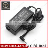 Free Shipping 19.5V 3.33A 4.5*3.0 65W AC Adapter For HP Pavilion 15-e003ax 15-e003sh 15-e003ep 15-e003sp Charger