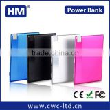 mini thin card shaped business gifts mobile power bank--branded your personalized logo for promotion gifts