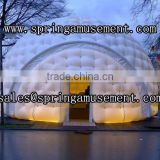 Best design LED PVC 0.55mm tent type inflatable double layer dome tent for party SP-T3025
