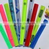 High Quality pvc reflective slap band wristband armband                                                                         Quality Choice