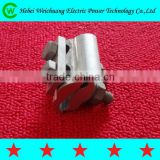 Double Bolts Aluminium Alloy Parallel Groove PG Clamp/Bimetal PG Clamp / Electrical Wire Clamp