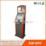 Subway Station Payment Kiosk Touchscreen / E-Ticketing Touch Screen Payment Kiosk / Bank Card Reader Payment Kiosk