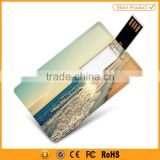 ultra thin logo print 4gb 8gb usb flash drive credit card                                                                         Quality Choice